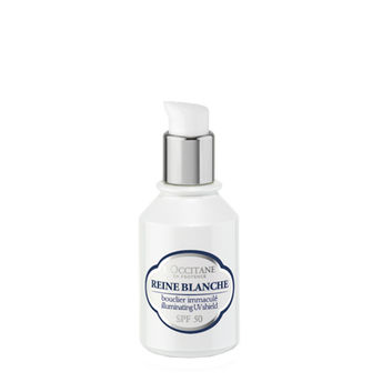 L'Occitane Reine Blanche Illuminating UV Shield SPF 50 Image