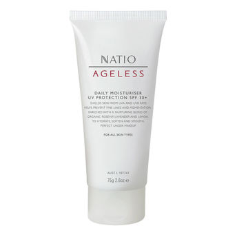 Natio Ageless Daily Moisturiser UV Protection SPF 30+ Image