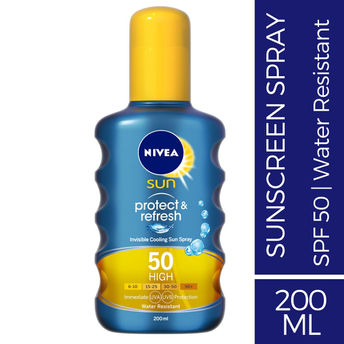 Nivea Sun Protect & Refresh Invisible Cooling Spray SPF 50 Image