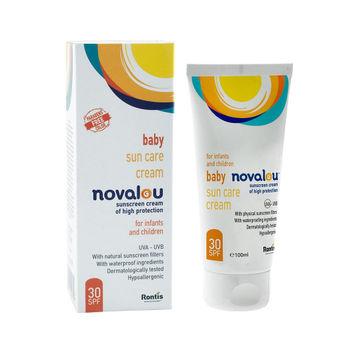 Novalou Baby Sun Care 30 Spf Cream Image