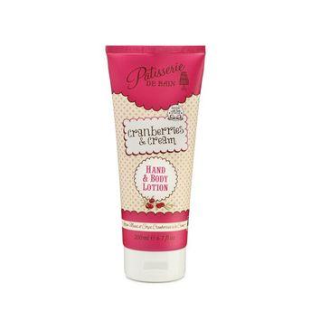 Patisserie de Bain Cranberries & Cream Hand & Body Lotion Image