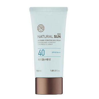 The Face Shop Natural Sun Eco Sebum Control Hydrating Sun Cream Image