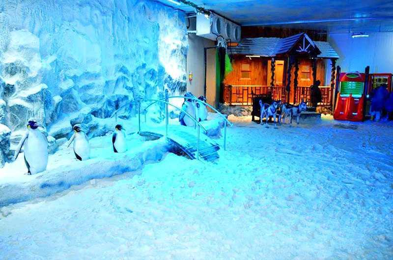 Snow World - Mumbai Image