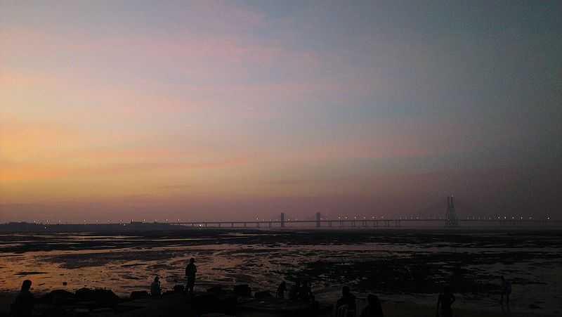 Dadar Chowpatty Beach - Mumbai Image