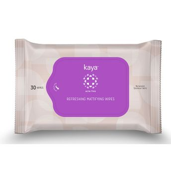 Kaya Refreshing Mattifying Wipes Image
