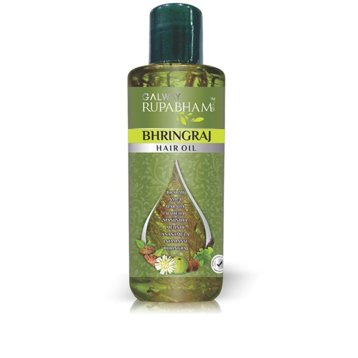 Galway Rupabham Bhringraj Hair Oil Image