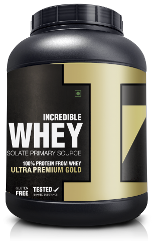 Incredible Whey Premium Gold Protein Image