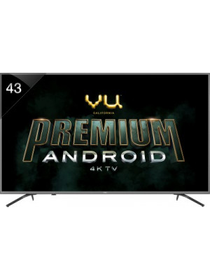 Vu 108 cm (43 Inches) Smart 4K Ultra HD Android LED TV Image