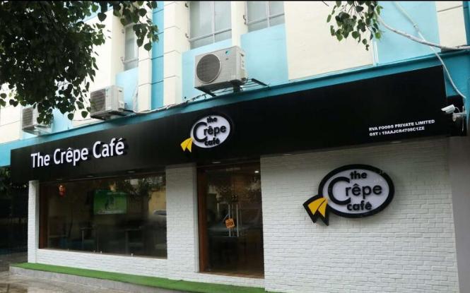 The Crepe Cafe - Park Street - Kolkata Image