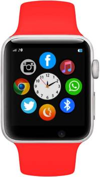 Time Up Bluetooth|SIM|Camera Android RED Smartwatch Image