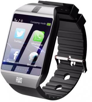 Time Up Camera|Bluetooth|SIM Card Silver Smartwatch Image