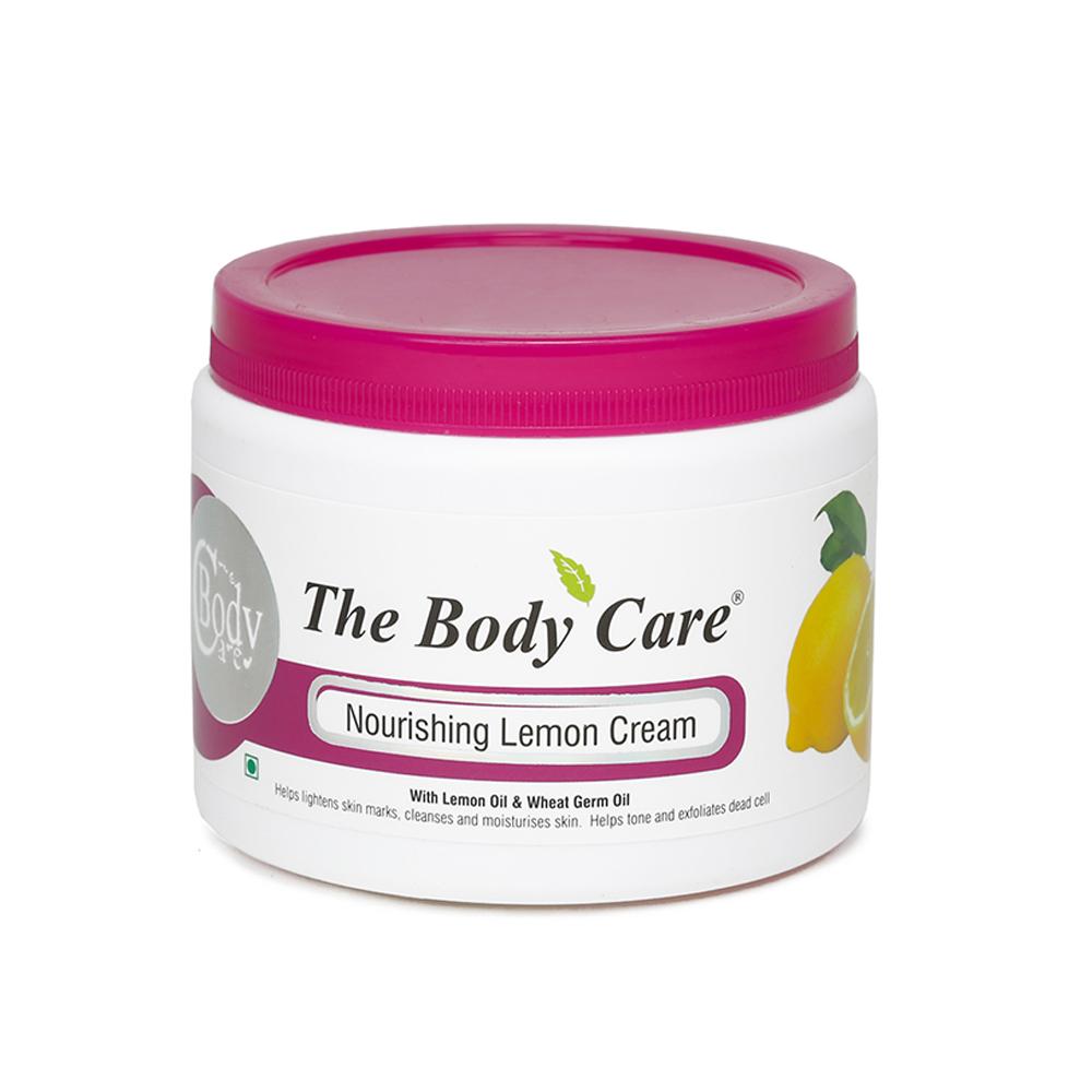 The Body Care Nourishing Lemon Cream Image