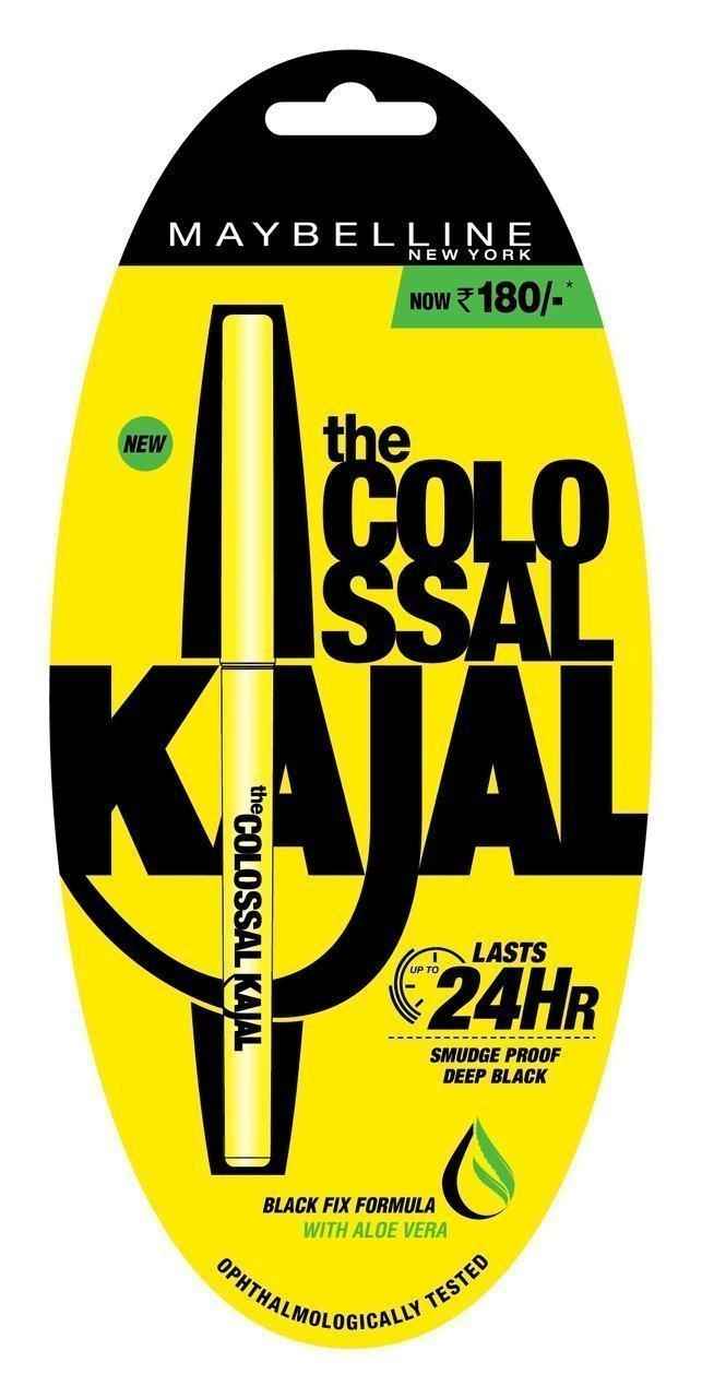 Maybelline New York The Colossal Kajal 24Hour Smudge Proof - Deep Black Image