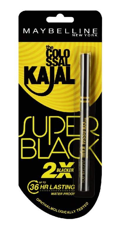 Maybelline New York Colossal Kajal Super Black Image