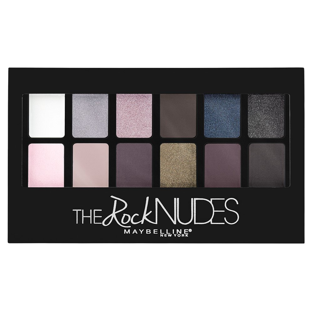 Maybelline New York The Rock Nudes Palette Image