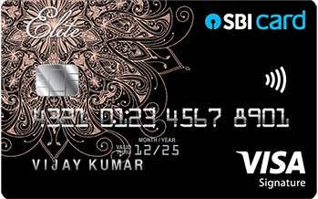 SBI Elite Credit Card Image