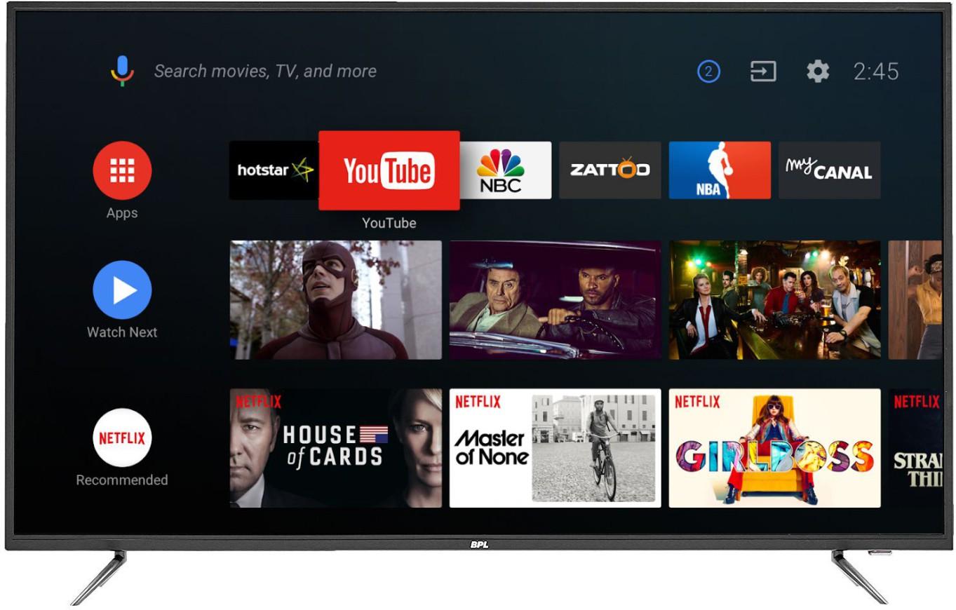 BPL (55 inch) Ultra HD (4K) LED Smart TV Image