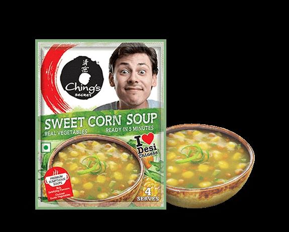 Chings Sweet Corn Vegetable Soup Image