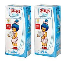 Amul Taaza Homogenized Toned Milk Image