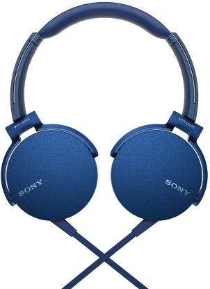 Sony MDR-XB550AP Wired Headset Image