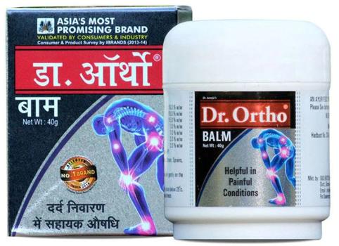 Dr. Ortho Ayurvedic Pain Relief Balm Image