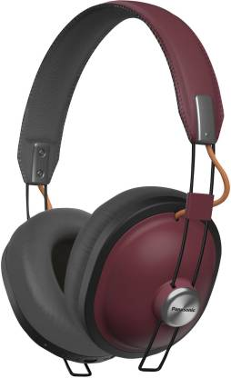 Panasonic RP-HTX80B-R Retro Bluetooth Headset Image