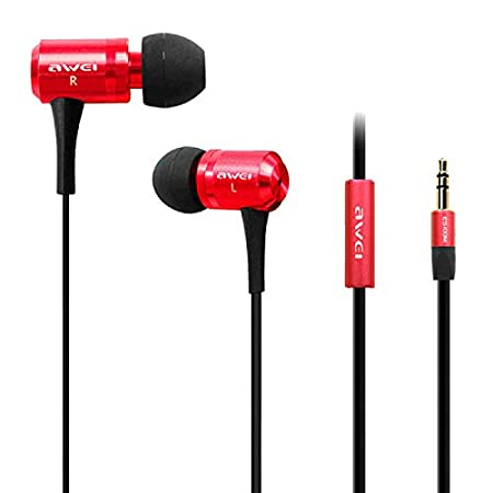 Awei ES100M Super Bass Wired Earphone Image