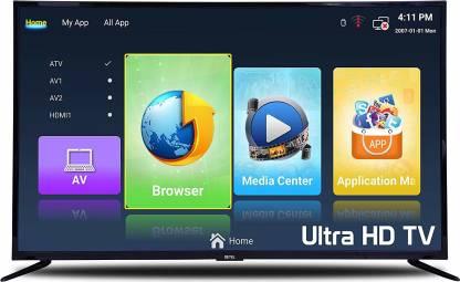 Detel 140cm (55 inch) 4K Ultra HD LED Smart Android TV Image