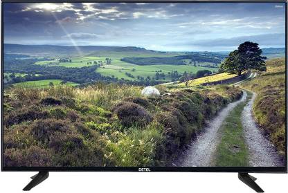 Detel 108cm (43 inch) Full HD LED Smart Android TV Image