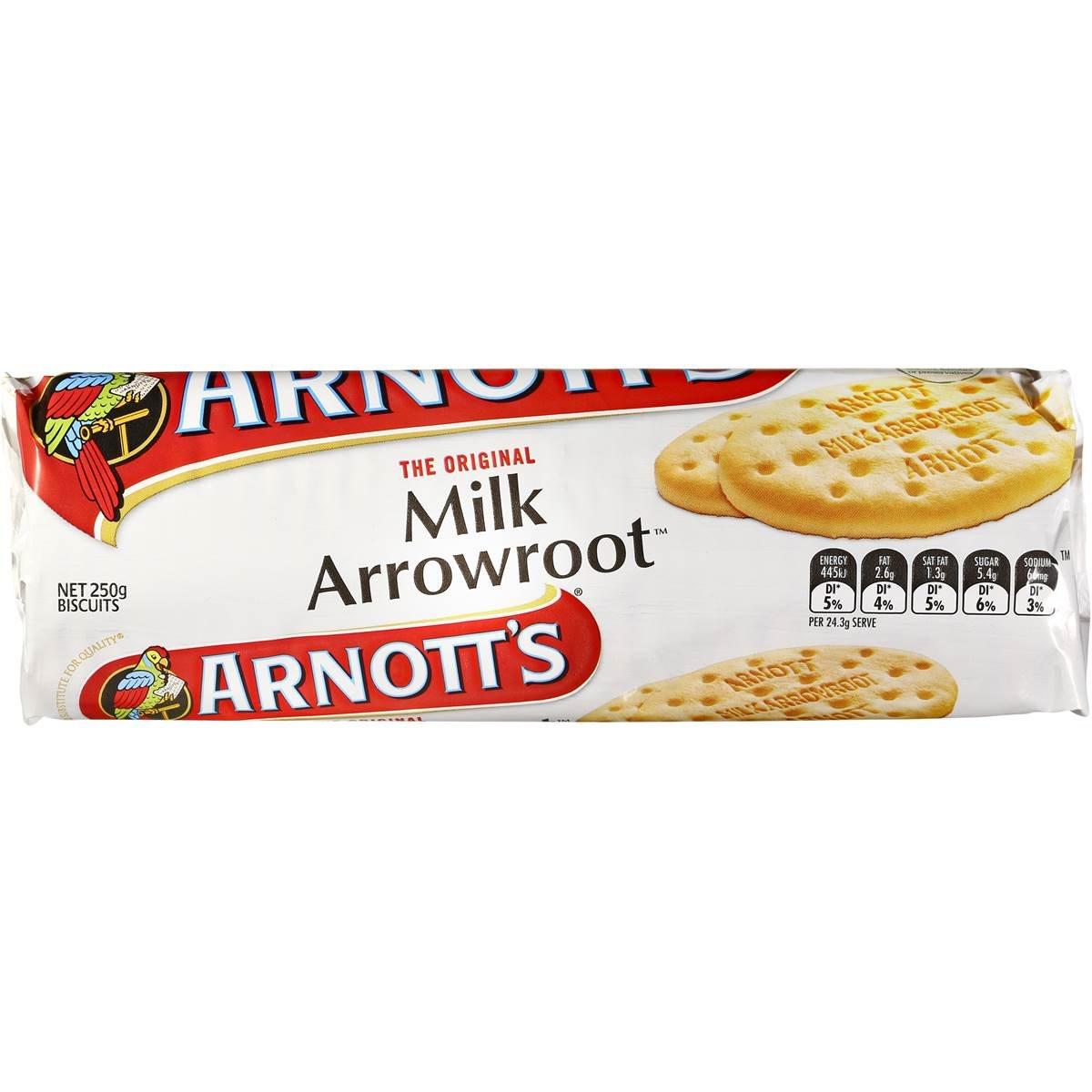 Arnott's Milk Arrowroot Biscuits Image