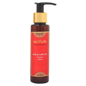 NeoVeda Organic Neem Skin And Hail Oil Image