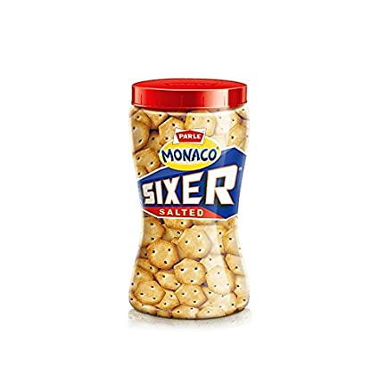 Parle Monaco Sixer Salted Biscuits Image