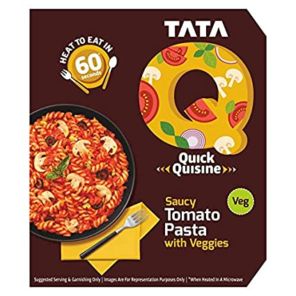 TATA Q Saucy Schezwan Noodles with veggies Image