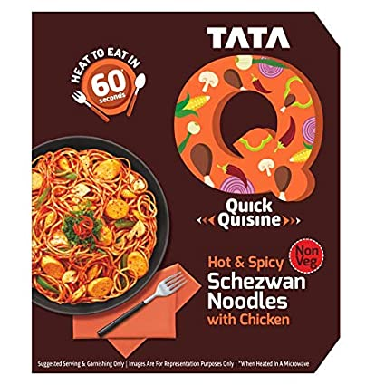 TATA Q Saucy Schezwan Noodles with Chicken Image