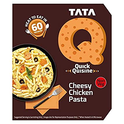 TATA Q Cheesy Chicken Pasta Image