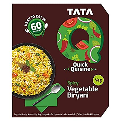 TATA Q Spicy Vegetable Biryani Image