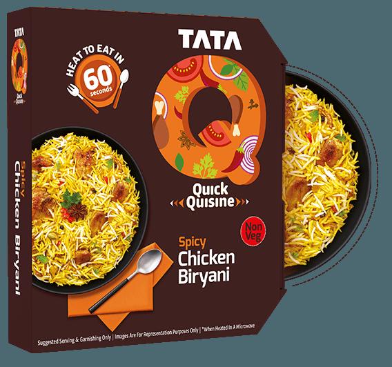 TATA Q Spicy Spicy Chicken Biryani Image