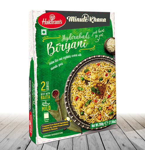 Haldiram's Ready To Eat Hyderabadi Biryani Image