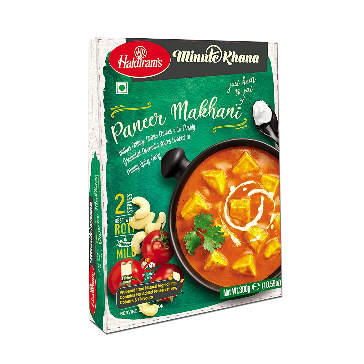 Haldiram's Ready To Eat Paneer Makhani Image
