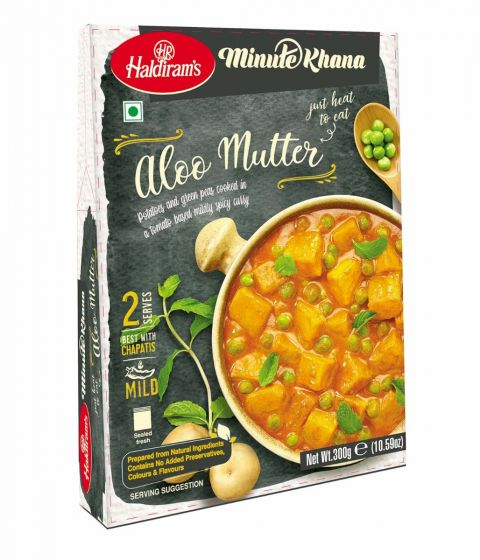 Haldiram's Ready To Eat Aloo Mutter Image