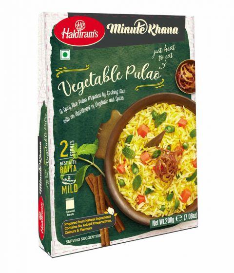 Haldiram's Ready To Eat Veg Pulao Image