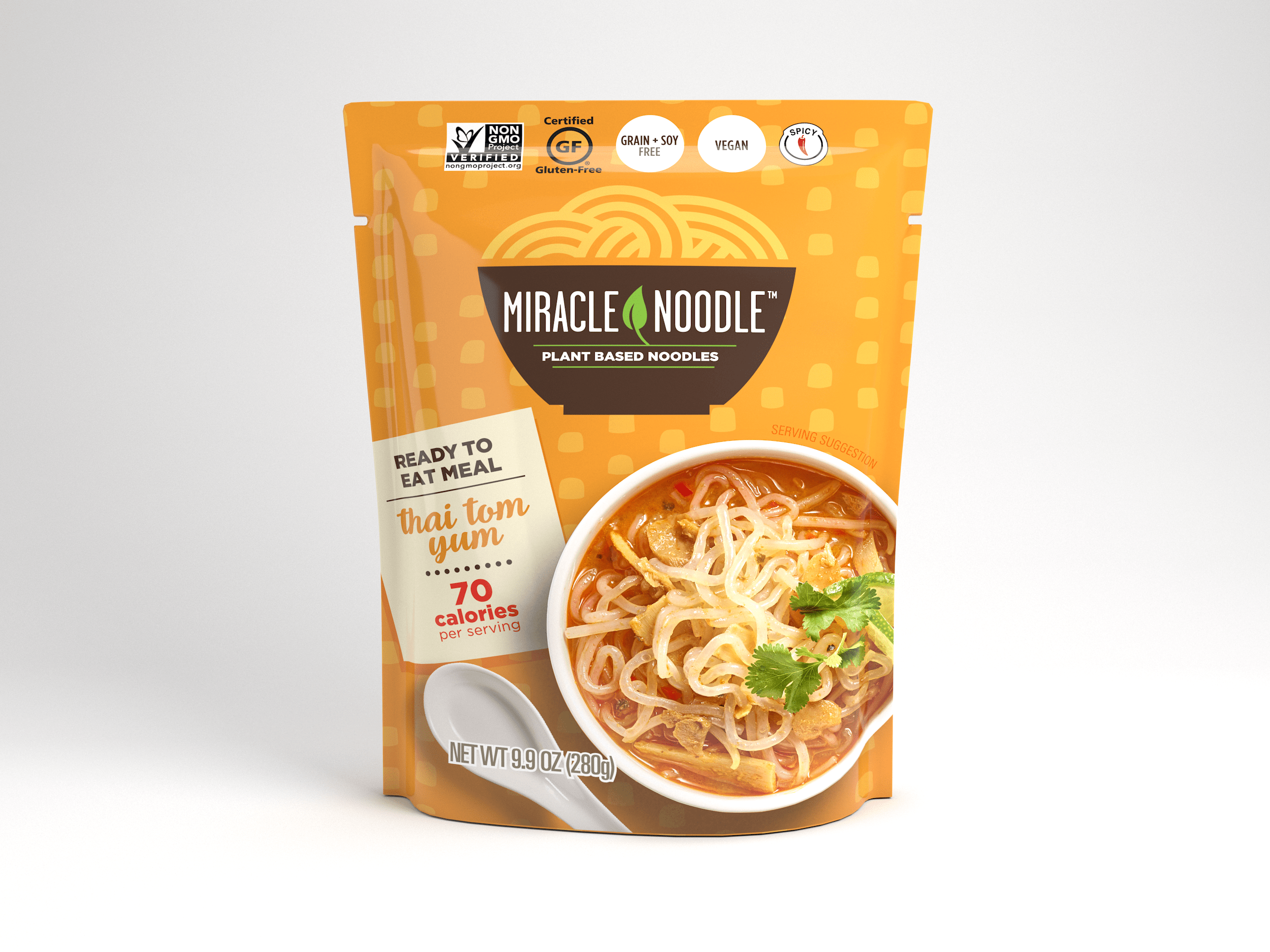 Miracle Noodle Ready to Eat Thai Tom Yum Noodle Soup Image