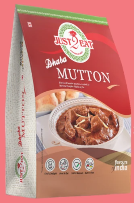 Just 2 Eat Mutton Curry RTE Image