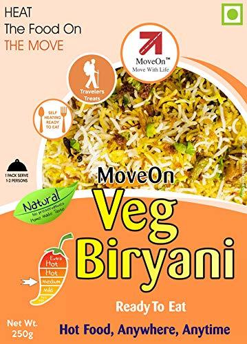 Move On Veg Biryani Ready To Eat Image