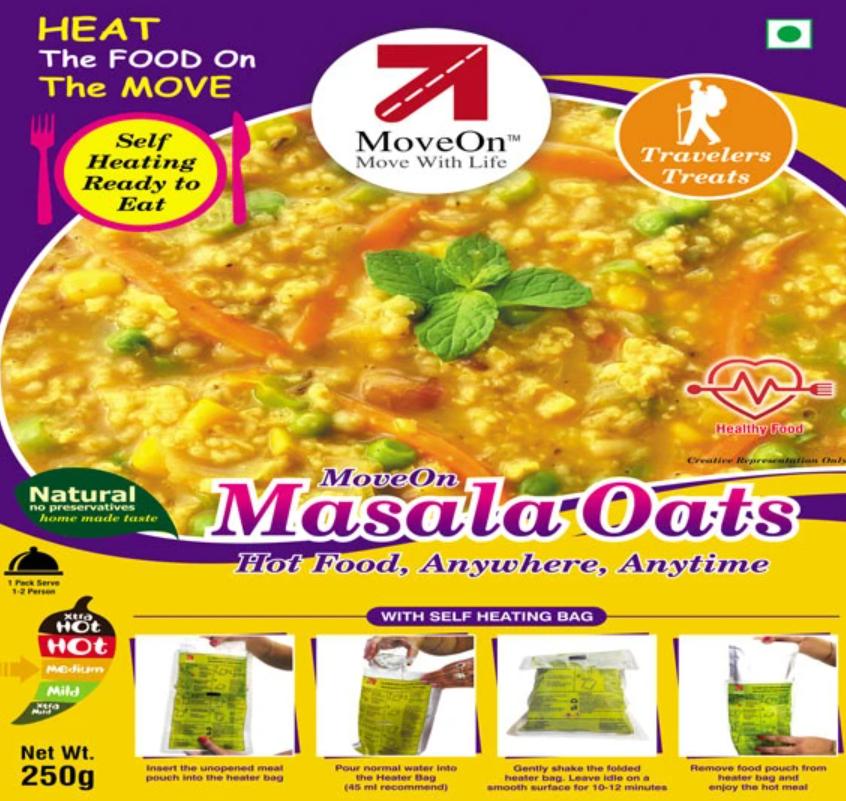 Move On Masala Oats Ready To Eat Image