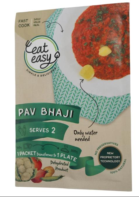 Eat Easy Jain Pav Bhaji Image