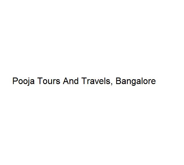 Pooja Tours And Travels - Bangalore Image