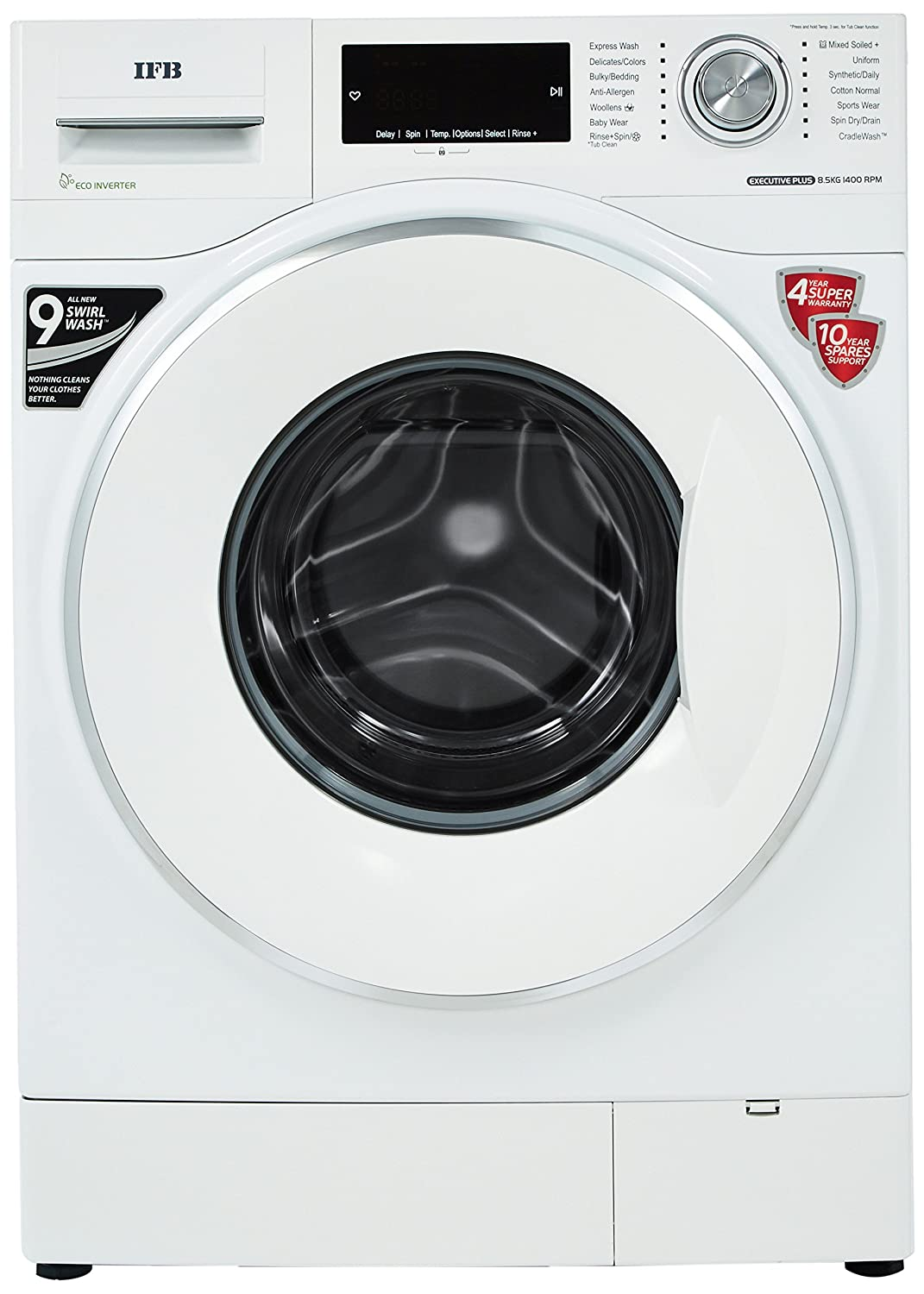 IFB 8.5 kg 5 Star Fully Automatic Front Load with In-built Heater Image