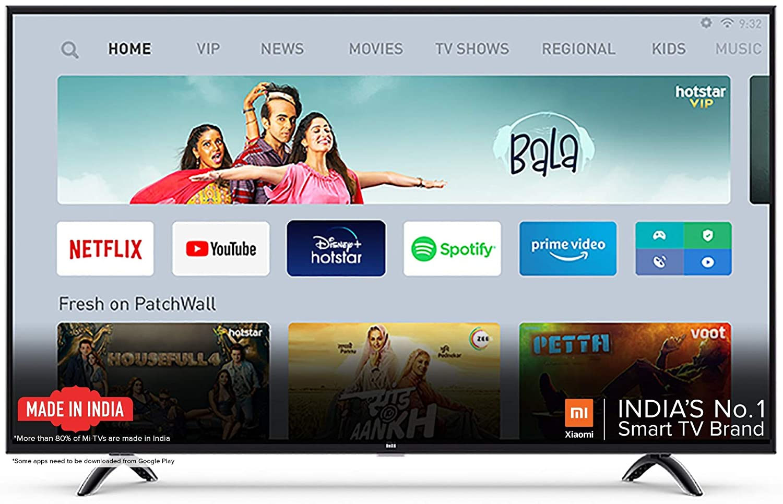 MI 4A Horizon Edition 80cm (32) HD Ready LED Smart Android TV Image
