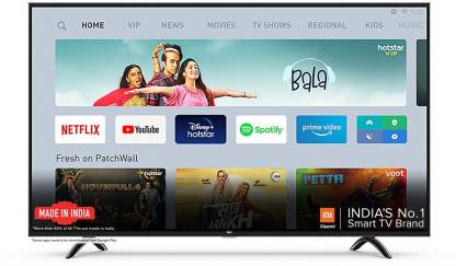 MI 4A Pro 80 cm (32) HD Ready Smart Android LED TV Image